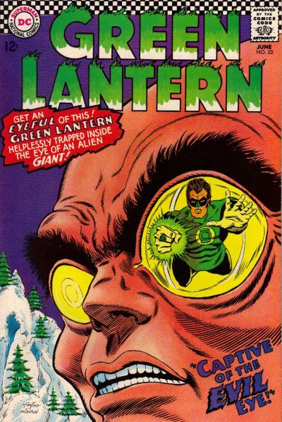 Cover for Green Lantern (DC, 1960 series) #53