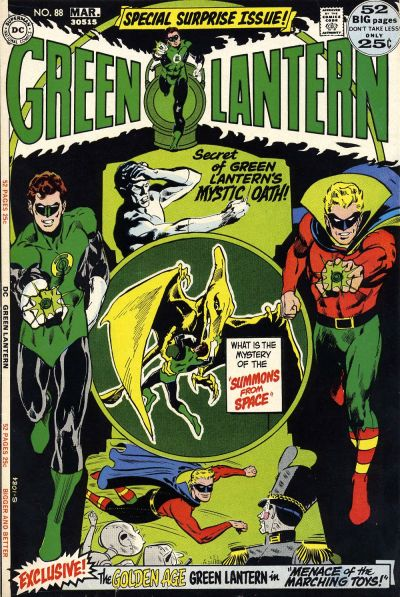 Cover for Green Lantern (DC, 1960 series) #88