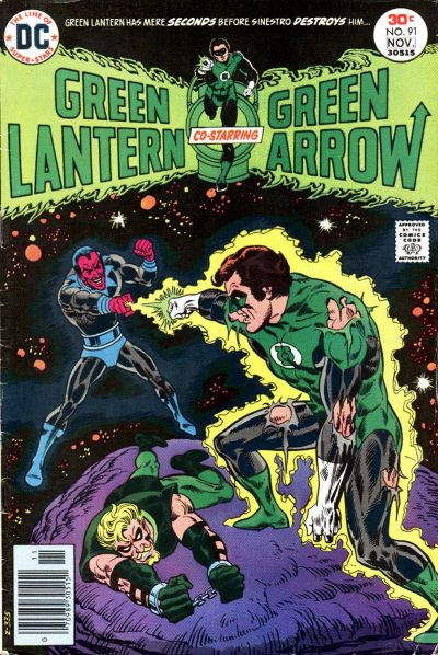 Cover for Green Lantern (1976 series) #91