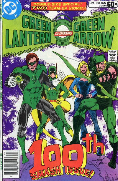Cover for Green Lantern (DC, 1976 series) #100