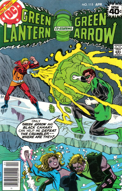 Cover for Green Lantern (DC, 1976 series) #115