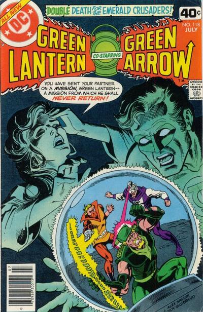 Cover for Green Lantern (1976 series) #118
