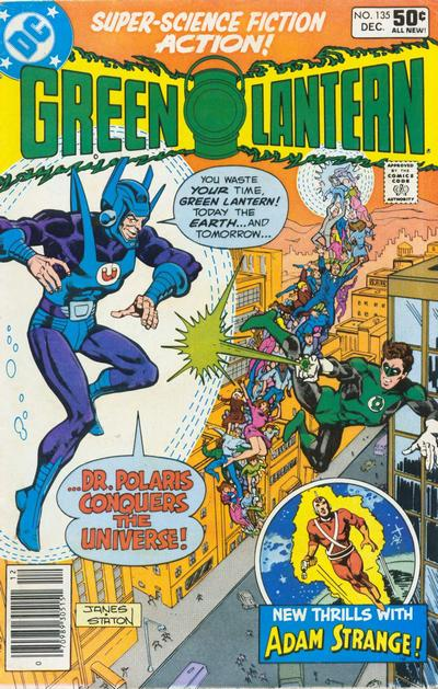 Cover for Green Lantern (DC, 1976 series) #135