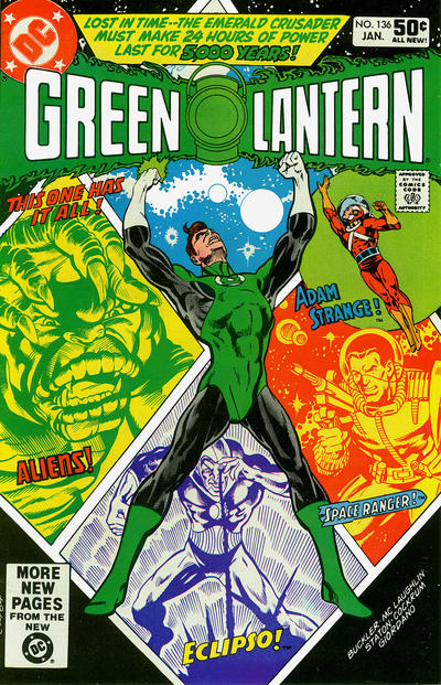 Cover for Green Lantern (DC, 1976 series) #136