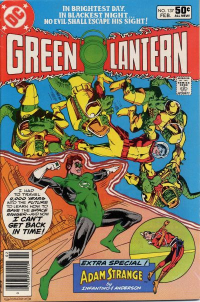 Cover for Green Lantern (1976 series) #137