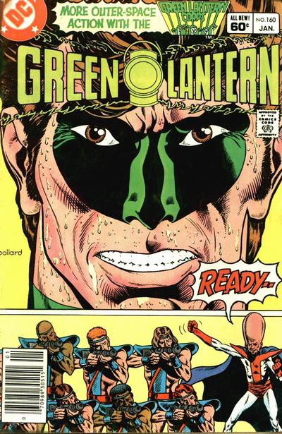 Cover for Green Lantern (DC, 1976 series) #160 [Newsstand]