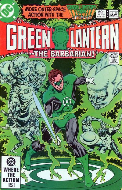 Cover for Green Lantern (1976 series) #164 [Direct-Sales]