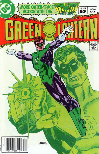 Cover for Green Lantern (1976 series) #166 [Canadian Price Variant]