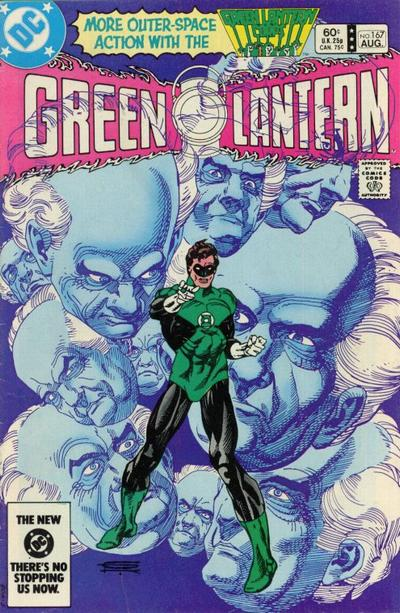Cover for Green Lantern (1976 series) #167