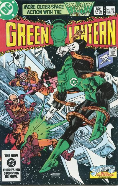 Cover for Green Lantern (1976 series) #168