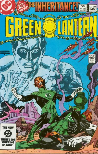Cover for Green Lantern (1976 series) #170