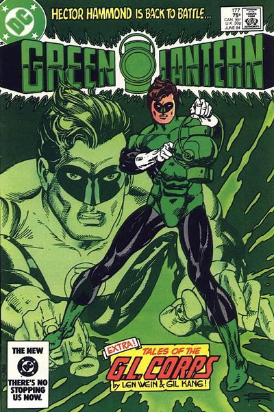 Cover for Green Lantern (1976 series) #177 [Newsstand]