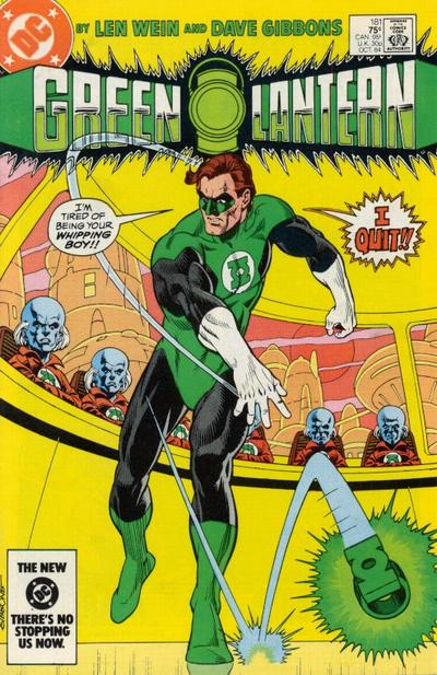 Cover for Green Lantern (1976 series) #181 [Newsstand]