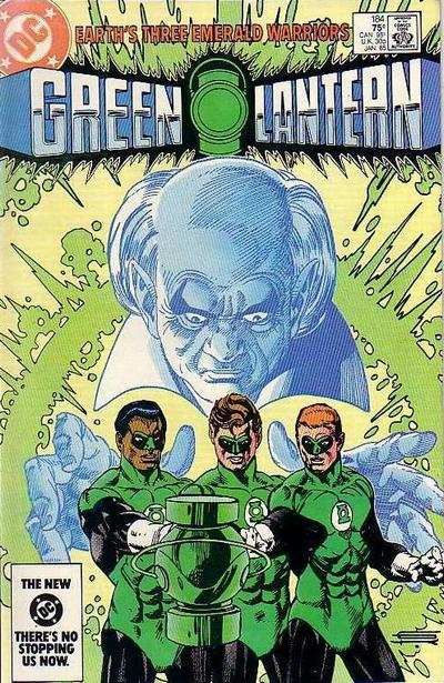 Cover for Green Lantern (1976 series) #184