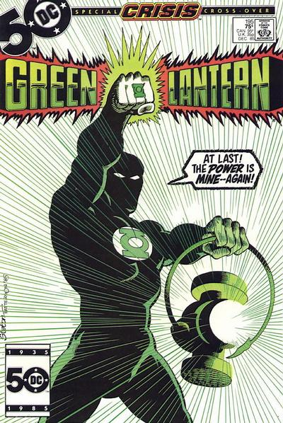 Cover for Green Lantern (1976 series) #195