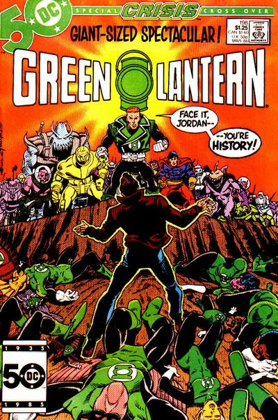 Cover for Green Lantern (DC, 1976 series) #198
