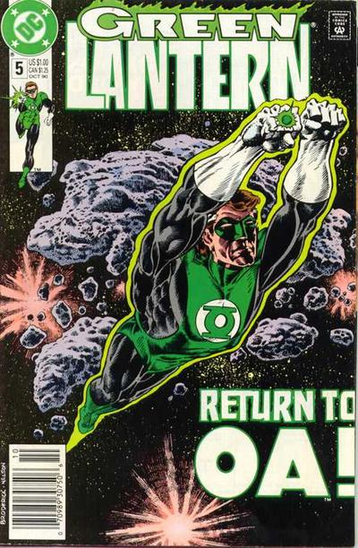 Cover for Green Lantern (DC, 1990 series) #5