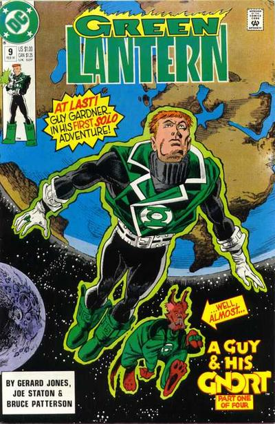 Cover for Green Lantern (DC, 1990 series) #9