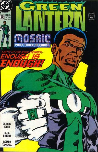 Cover for Green Lantern (DC, 1990 series) #16