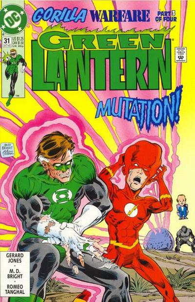 Cover for Green Lantern (1990 series) #31 [Newsstand]