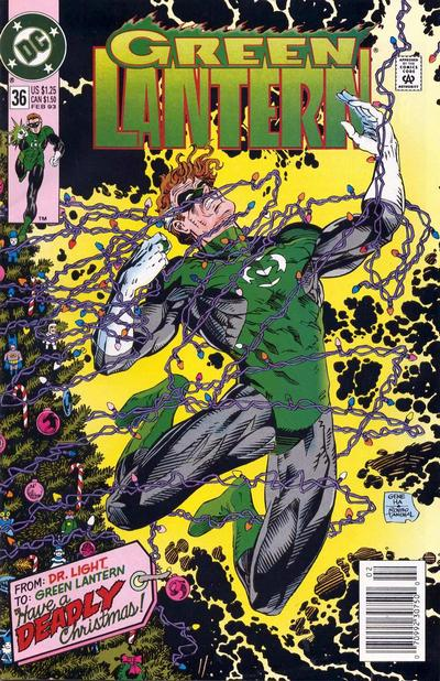 Cover for Green Lantern (1990 series) #36