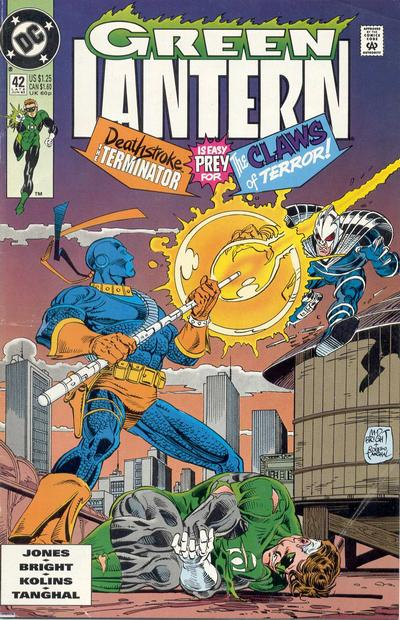 Cover for Green Lantern (DC, 1990 series) #42