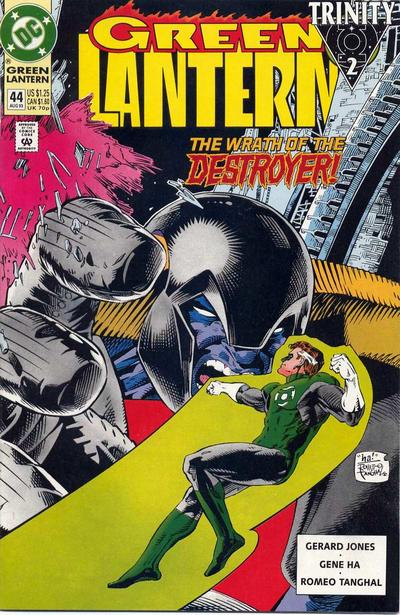 Cover for Green Lantern (DC, 1990 series) #44