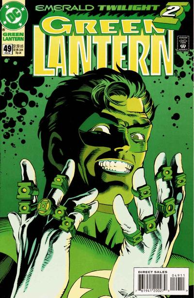 Cover for Green Lantern (DC, 1990 series) #49