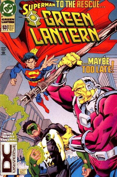 Cover for Green Lantern (DC, 1990 series) #53