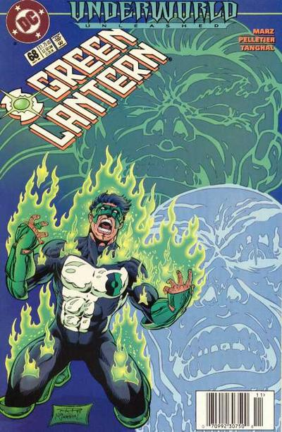 Cover for Green Lantern (DC, 1990 series) #68
