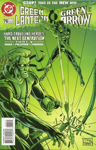 Cover for Green Lantern (DC, 1990 series) #76