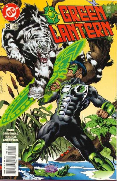 Cover for Green Lantern (DC, 1990 series) #82