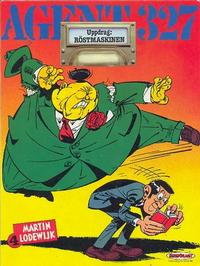Cover Thumbnail for Agent 327 (Serieförlaget [1980-talet]; Hemmets Journal AB, 1986 series) #4