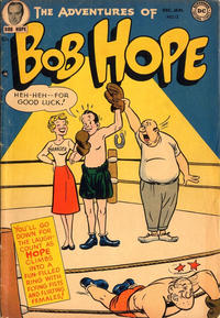 Cover for The Adventures of Bob Hope (1950 series) #12