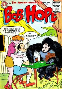 Cover Thumbnail for The Adventures of Bob Hope (DC, 1950 series) #33