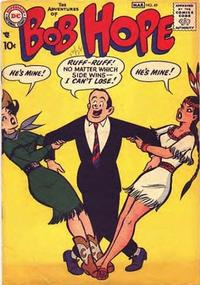 Cover Thumbnail for The Adventures of Bob Hope (DC, 1950 series) #49