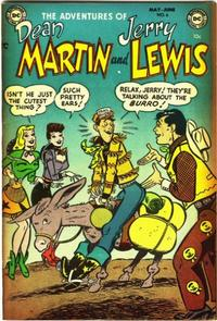 Cover Thumbnail for The Adventures of Dean Martin & Jerry Lewis (DC, 1952 series) #6