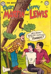 Cover Thumbnail for The Adventures of Dean Martin & Jerry Lewis (DC, 1952 series) #11