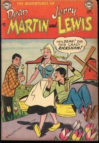 Cover Thumbnail for The Adventures of Dean Martin & Jerry Lewis (DC, 1952 series) #12
