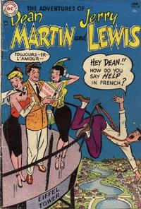 Cover Thumbnail for The Adventures of Dean Martin & Jerry Lewis (DC, 1952 series) #18