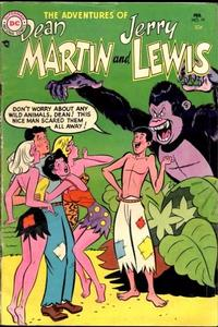Cover Thumbnail for The Adventures of Dean Martin & Jerry Lewis (DC, 1952 series) #19