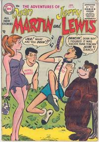 Cover Thumbnail for Adventures of Dean Martin and Jerry Lewis (DC, 1952 series) #26