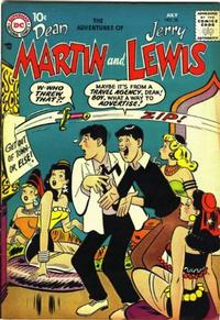Cover Thumbnail for The Adventures of Dean Martin & Jerry Lewis (DC, 1952 series) #38