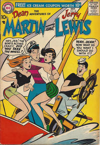Cover Thumbnail for The Adventures of Dean Martin & Jerry Lewis (DC, 1952 series) #40
