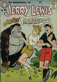 Cover Thumbnail for The Adventures of Jerry Lewis (DC, 1957 series) #41