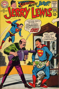 Cover Thumbnail for The Adventures of Jerry Lewis (DC, 1957 series) #105