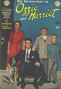 Cover Thumbnail for The Adventures of Ozzie & Harriet (DC, 1949 series) #1