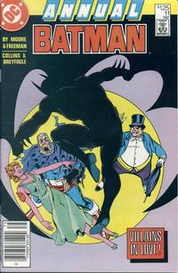 Cover for Batman Annual (1982 series) #11 [Newsstand]