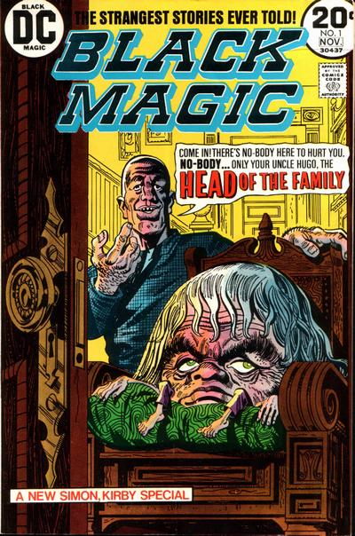 Cover for Black Magic (DC, 1973 series) #1