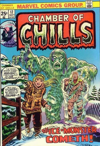 Cover for Chamber of Chills (Marvel, 1972 series) #12